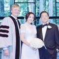 Làng sao - Lộ ảnh cưới của Lưu Hiểu Khánh và chồng mới