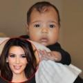 Làng sao - Lộ hình ảnh đầu tiên của con gái Kim Kardashian