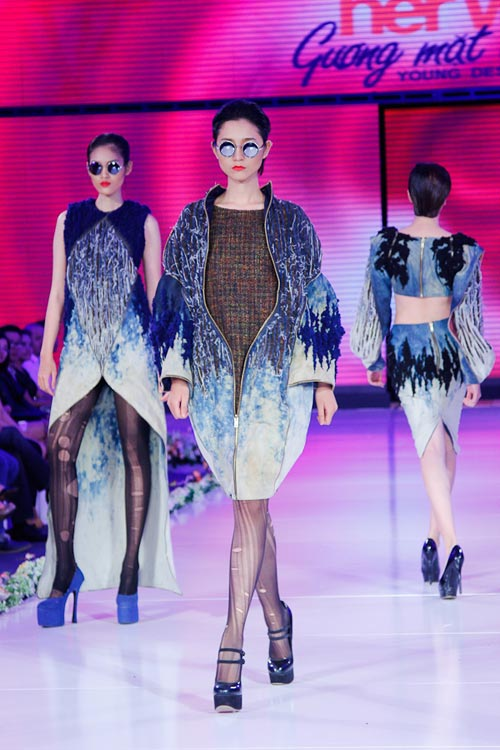 tra my next top hoi hop tro lai san catwalk - 4