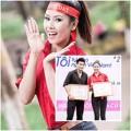 Làng sao - Á hậu Nguyễn Thị Loan trẻ trung đi hiến máu