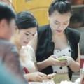 Làng sao - Thu Thủy hẹn hò Phương Thanh ăn khuya ở HN