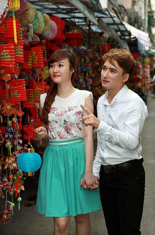 phan manh quynh dao pho long den cung hot girl - 2
