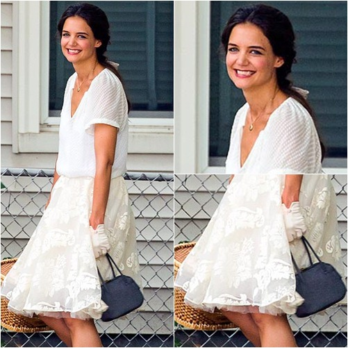 street style: katie holmes tre mang sau ly hon - 1