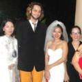 """Làng sao - Cô dâu Mai Khôi mặc váy cưới """"hàng độc"""""""