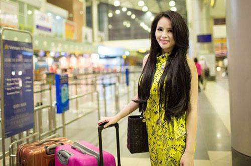 lai huong thao len duong du thi miss world 2013 - 2