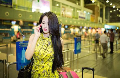 lai huong thao len duong du thi miss world 2013 - 1