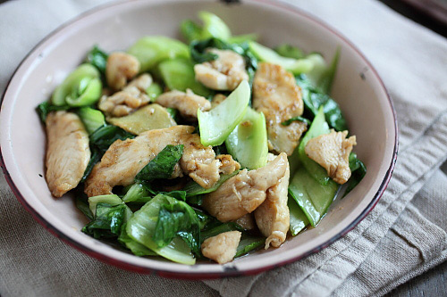 peanutty noodles with bok choy bok choy stir fry with ginger and ...