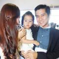 """Làng sao - Hồ Hoài Anh: """"Sung sướng khi thay tã cho con"""""""