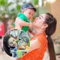 Làm mẹ - Con nuôi đẹp trai nhà Lâm Chi Khanh