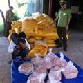 Mua sắm - Giá cả - Tạm giữ 1,5 tấn mực xé khô Trung Quốc