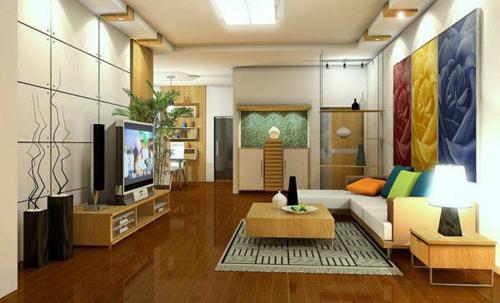 Phong thủy trang trí nội thất phòng khách - 1