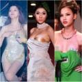 Thời trang - Những pha tuột ngực 'nhức mắt' để đời của sao Việt