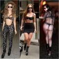 Thời trang - Muôn kiểu nội y diễu phố của Lady Gaga