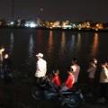 Tin tức - HN: Xe khách lao xuống hồ gây chết người