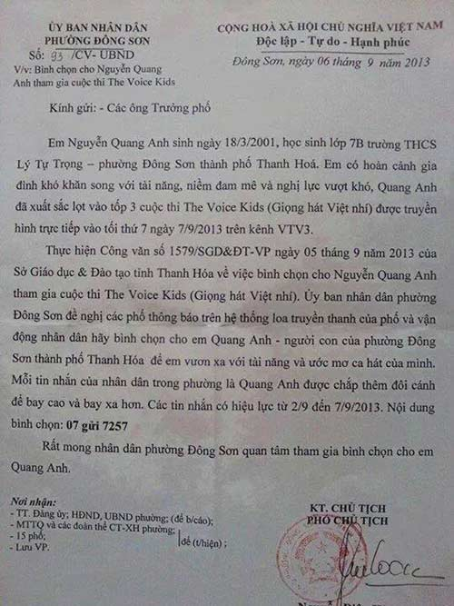 xon xao cong van van dong binh chon quang anh - 2