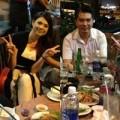 Làng sao - Thanh Thảo ăn khuya cùng bạn trai hậu chia tay