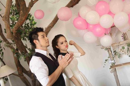 huong giang idol tham thiet ben ''ban trai'' rumani - 11