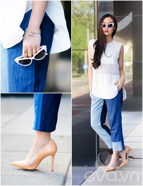 eva icon: blogger viet muon ve denim don thu - 8