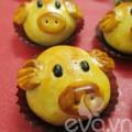 Bếp Eva - Bánh trung thu hình heo cho bé