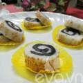Bếp Eva - Bánh dẻo cuộn chocolate