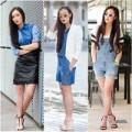 Thời trang - Eva Icon: Blogger Việt muôn vẻ denim đón thu
