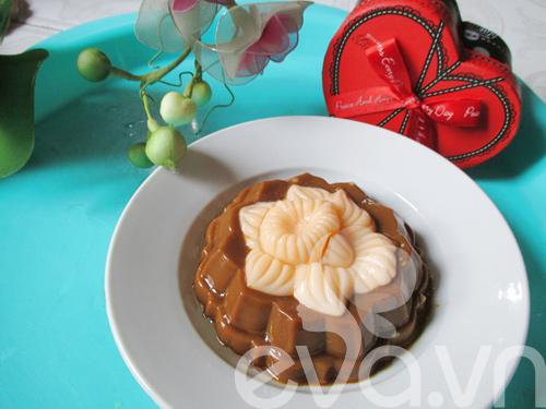 Bánh trung thu rau câu nhân caramel - 8