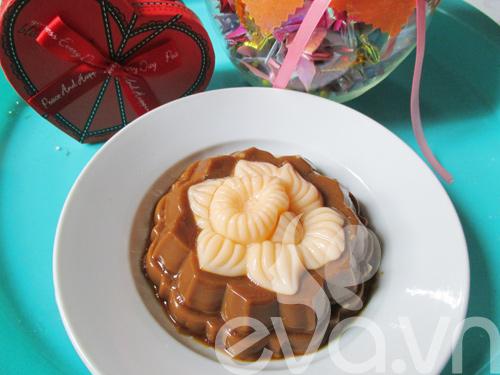 Bánh trung thu rau câu nhân caramel - 10
