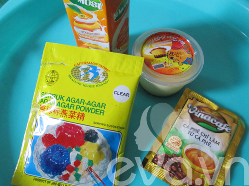 Bánh trung thu rau câu nhân caramel - 1