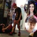 Làng sao - Sốc: Andrea bị Yanbi đánh đập giữa phố