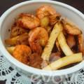 Bếp Eva - Mát trời nấu tôm thịt kho dừa