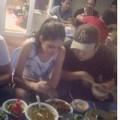 Làng sao - Andrea đi ăn tối cùng Yanbi sau scandal