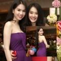 Làng sao - Ngọc Trinh gợi cảm mừng sinh nhật Linh Chi