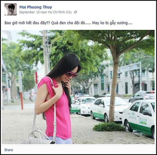 mai phuong thuy bi cuop tui xach tren duong - 1
