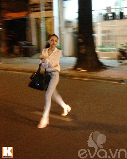 """huong giang idol hen ho cung """"trai la"""" - 4"""