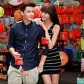 Làng sao - Huỳnh Anh không ngại tình tứ với bạn gái trên phố