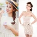 Thời trang - Jennifer Phạm 'xinh như hoa' với đầm ngắn