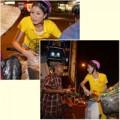 Làng sao - Trang Trần giản dị phát quà cho người nghèo