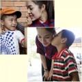 Làng sao - Dương Cẩm Lynh được trẻ em nghèo yêu thương