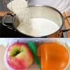 Làm mẹ - Món lạ cho bé: Cơm sữa trộn táo