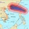 Siêu bão Usagi giật cấp 17 tiến vào biển Đông