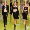 BST Versace 2014: Sắc đen chủ đạo