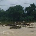 Tin tức - Bố cứu con rơi xuống nước lũ, cả 2 chết đuối