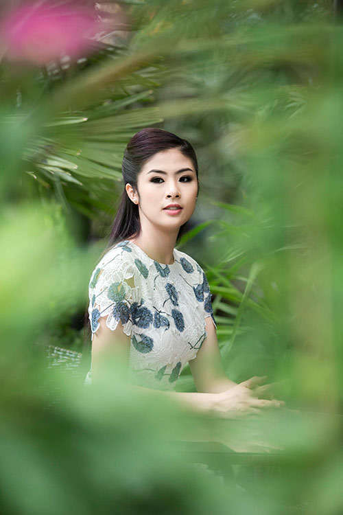 Ngọc Hân hoà mình vào cảnh sắc Thái Lan-3