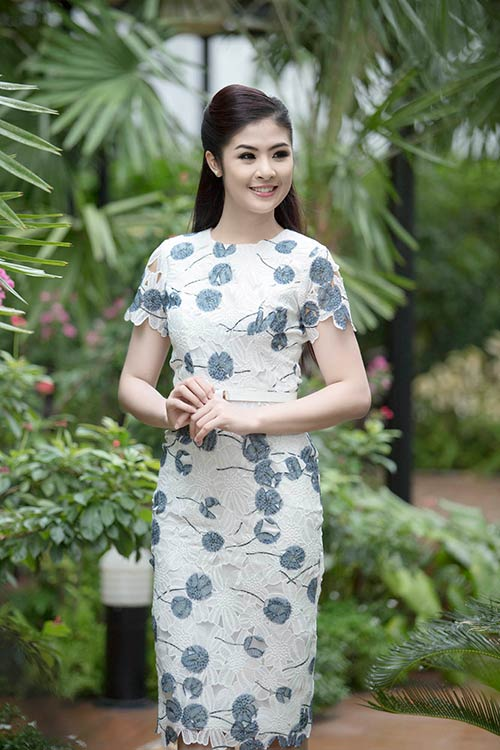 Ngọc Hân hoà mình vào cảnh sắc Thái Lan-6