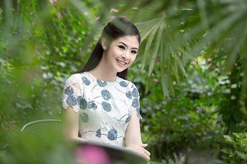 Ngọc Hân hoà mình vào cảnh sắc Thái Lan-5
