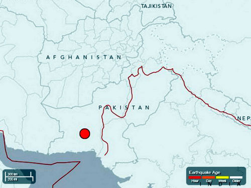 pakistan: dong dat 7,7 do richter, 238 nguoi chet - 1