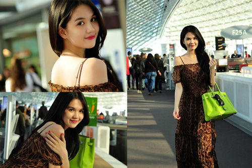 Ngọc Trinh, Thanh Hằng hoàn hảo ở sân bay-8