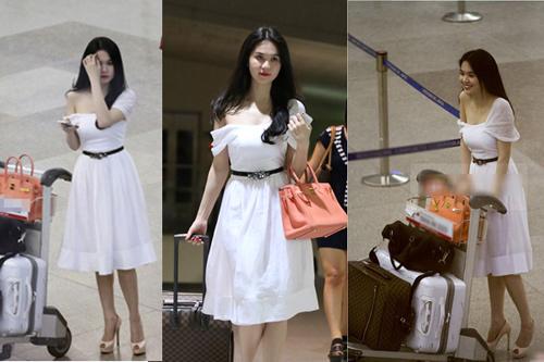 Ngọc Trinh, Thanh Hằng hoàn hảo ở sân bay-10