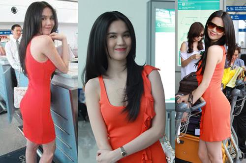 Ngọc Trinh, Thanh Hằng hoàn hảo ở sân bay-1