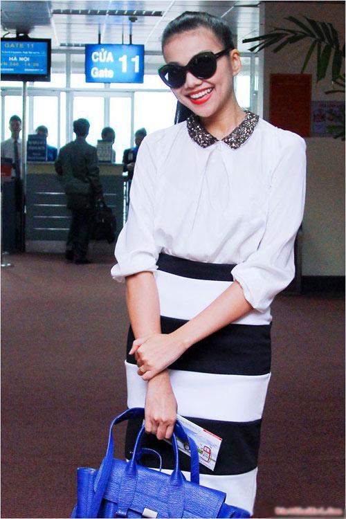 Ngọc Trinh, Thanh Hằng hoàn hảo ở sân bay-5